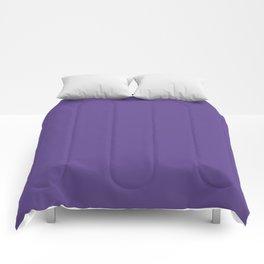 Solid Ultra Violet pantone Comforters