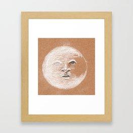 Mister Moon Framed Art Print