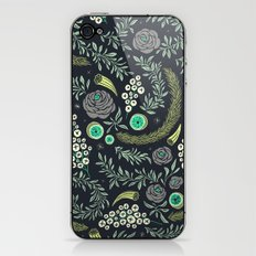 Winter's Eve Floral iPhone & iPod Skin