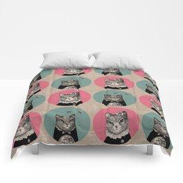 Cats Print Comforters