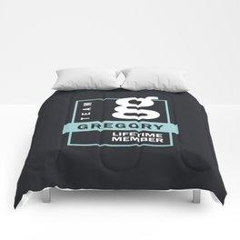 Team Gregory Lifetime Member Comforters