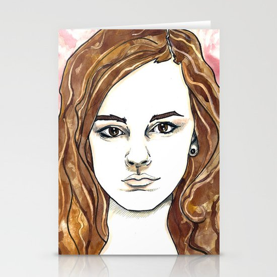 Hermione Granger Stationery Cards