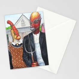 American Cretaceous Stationery Cards