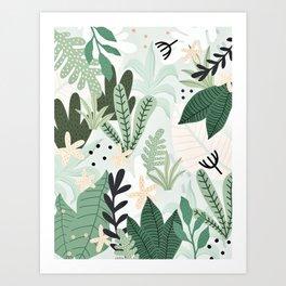 Into the jungle II Art Print