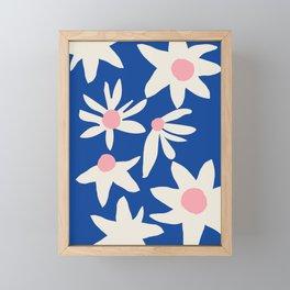 Blue Garden Framed Mini Art Print