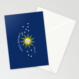 The Conch Republic Flag Stationery Cards
