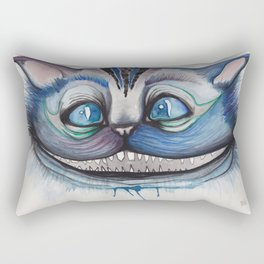 Cheshire Cat Grin - Alice in Wonderland Rectangular Pillow