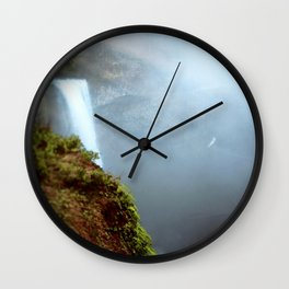 Water Across the Edge Wall Clock