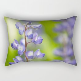 Yellowstone National Park - Silver Lupine Rectangular Pillow