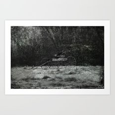 Forgotten Ride Art Print