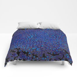 finite element dark Comforters