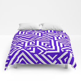 Graphically Purple Comforters