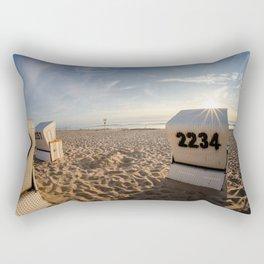 Beach Chair #2 Rectangular Pillow