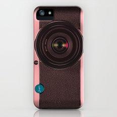 Vintage Camera III - Rosé Gold iPhone (5, 5s) Slim Case