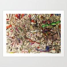 Foolish Nightmares & Dreams Art Print