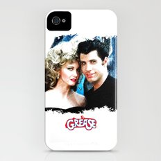 Sandy and Danny from Grease - Painting Style iPhone (4, 4s) Slim Case
