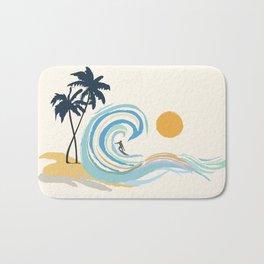 Minimalistic Summer II Bath Mat