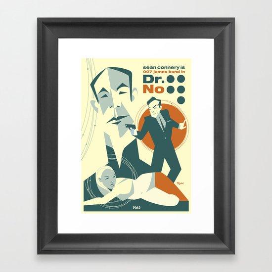 Dr. No Framed Art Print