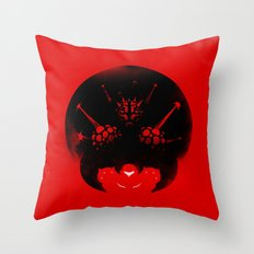 Super Metroid Throw Pillow