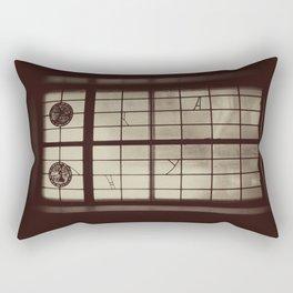 Window Glass Chicago Original Photo Rectangular Pillow