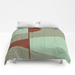 Mid Modern Retro Atomic Comforters