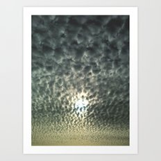 Mackerel Sky Art Print