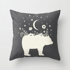 Medicine Bear Throw Pillow