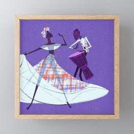 Creole Framed Mini Art Print