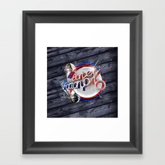 The Barber Factory Framed Art Print