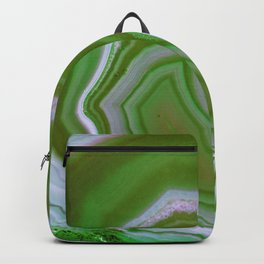 green colored agate Backpack