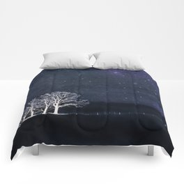 Fabric of Space Comforters