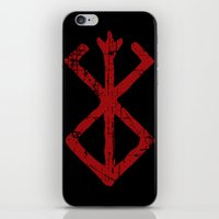 berserk iPhone & iPod Skins featuring berserk by skymerol