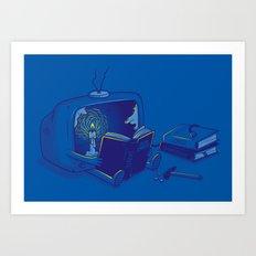 Rethink yourself Art Print