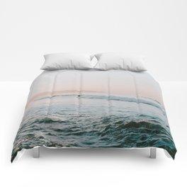 summer waves Comforters