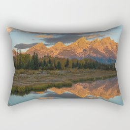 Sunrise On The Snake River Rectangular Pillow