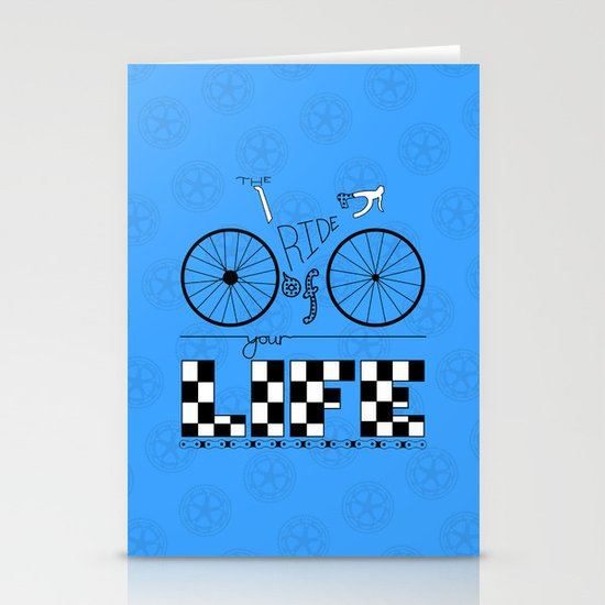 Ride of Your Life Stationery Cards