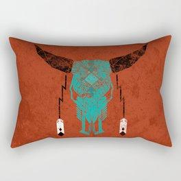 Southwest Skull Rectangular Pillow