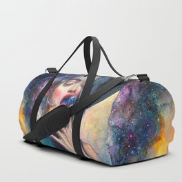 BLACK HOLE IN THE MILKY WAY Duffle Bag