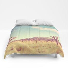 Joshua Tree photograph, desert print, No. 189 Comforters