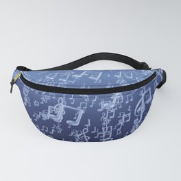 Aquatic Chords Fanny Pack
