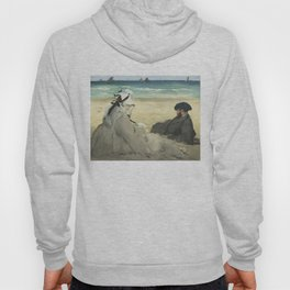 On the Beach - Edouard Manet Hoody