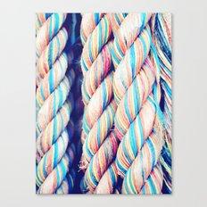 Rainbow Rope Canvas Print