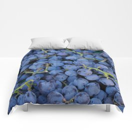 Concord Grapes Comforters