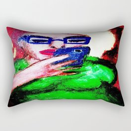 While The Sky Is Falling. Rectangular Pillow