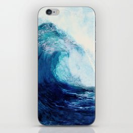 Waves II iPhone Skin
