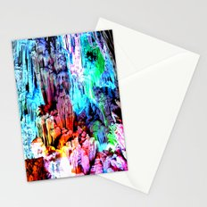 Cavern in Greece Stationery Cards