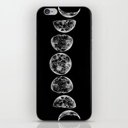 The Lunar Cycle iPhone Skin