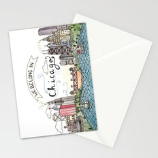 We Belong in Chicago Stationery Cards