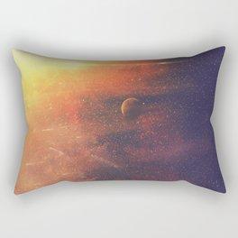 Galaxy - Sunny Space Rectangular Pillow