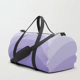Four Shades of Lavender Curved Duffle Bag